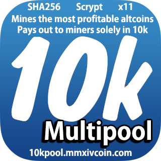 10K coin (Experiment) Hard fork